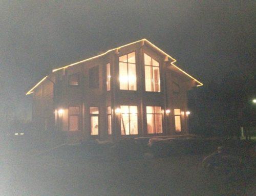 Дом из клеенного бруса в Разметелево