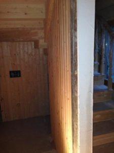 Электромонтаж дома из дерева, бруса, каркасного дома